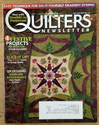 {Quilting} Quilter's Newsletter Magazine {Volume 40, Number 6, December 2009/January 2010}