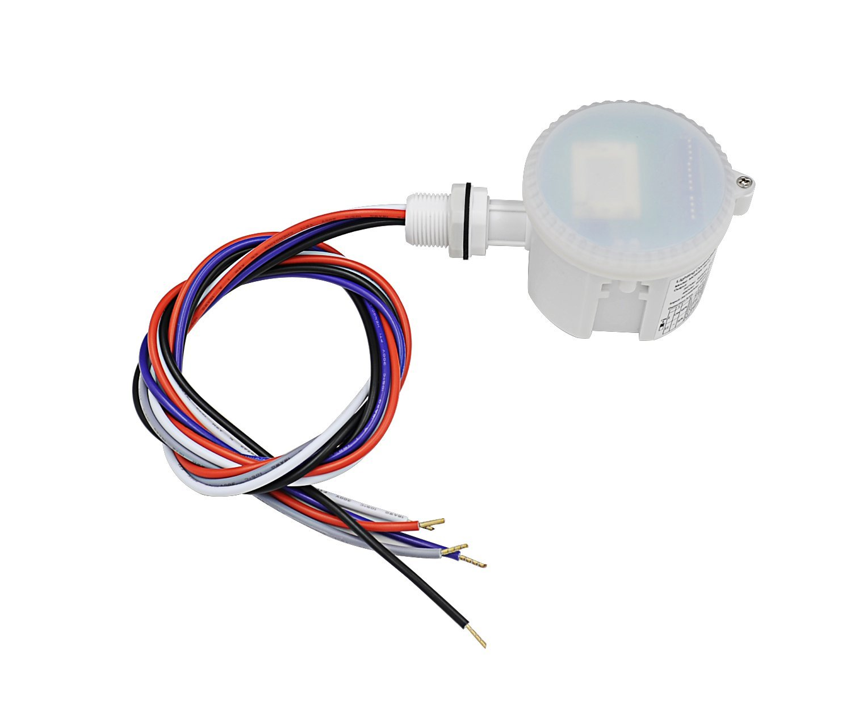 Hykolity 360 Degree Microwave Motion Sensor IP65 Rating Waterproof Motion Sensor Light Switch Indoor Use for Linear High Bay