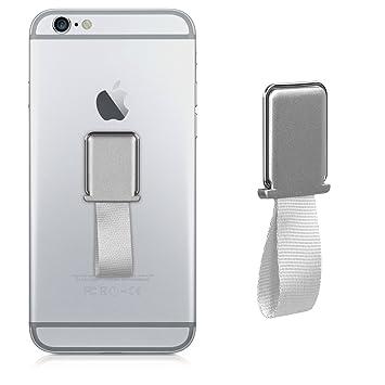 kwmobile Anillo para móvil - Anillo Giratorio en 360 Grados con Soporte para Smartphone - Sostenedor