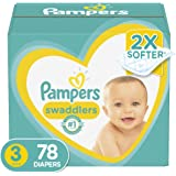 Diapers Size 3, 78Count - Pampers Swaddlers Disposable Baby Diapers, Super Pack