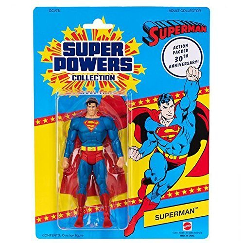 (DC Universe Super Powers Collection Superman 30th Anniversary Action Figure)