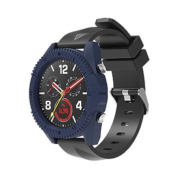 SIKAI 2-Pack Protector Funda Compatible con Huawei Watch GT Marco de Colores PC Funda de Protección para Huawei Moda Slim Colorido Marco Caso Cubierta ...