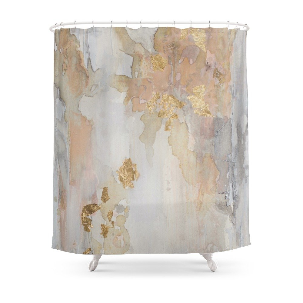 Amazon.com: Society6 New Beginnings Shower Curtain 71\