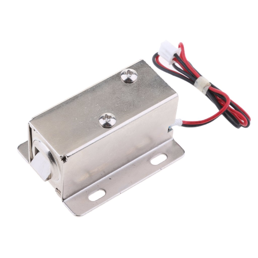 MagiDeal Premium Electrical Magnetic Lock for Doors Cabinets Gates Lockers 24V/0.52A Parts by Unknown (Image #4)