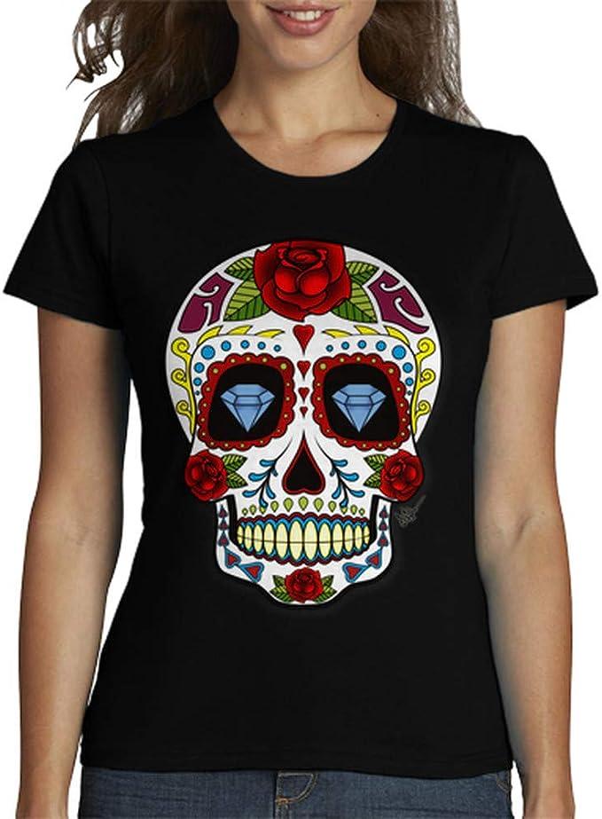 Acheter t-shirt femme tete de mort online 11