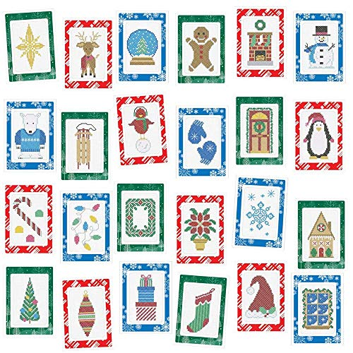 Herrschners® Big Christmas Collection Greeting Cards Counted Cross-Stitch Kit