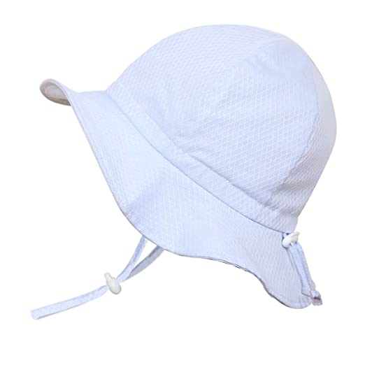 a5177e1a0be Amazon.com  Baby Toddler Kids Breathable Cotton Sun Hat 50 UPF ...