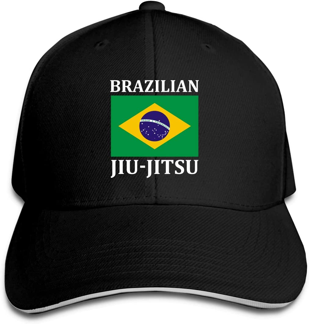 WFIRE Adult Baseball Caps Brazilian Jiu Jitsu Custom Adjustable Sandwich Cap Casquette Hats