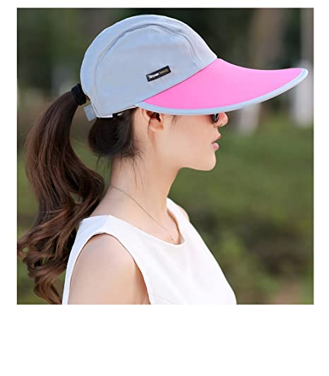 Outdoor Recreation Sports Anti UV Sun Hat Wide Brim Baseball Cap ... 6981c287a4b