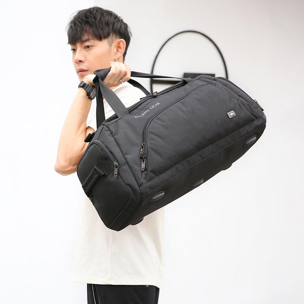 XLY Large Capacity Business Travel Bag Mens Bag Briefcase Oxford Cloth Shoulder Bag