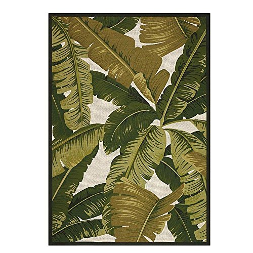 Home Decorators Collection Pindo Ivory/Green 5 ft. x 8 ft. Indoor/Outdoor Area (Best Home Decorators Collection Area Rugs)