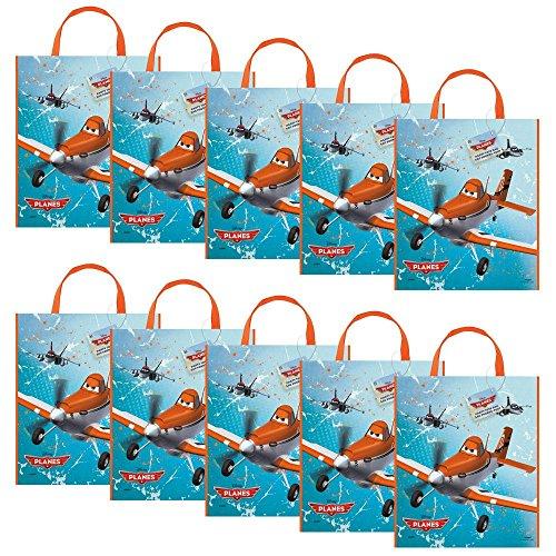 [Costume Supercenter BB44819SET Disney Planes Party Tote Bag (Set Of 10)] (Disney Ideas Costumes)