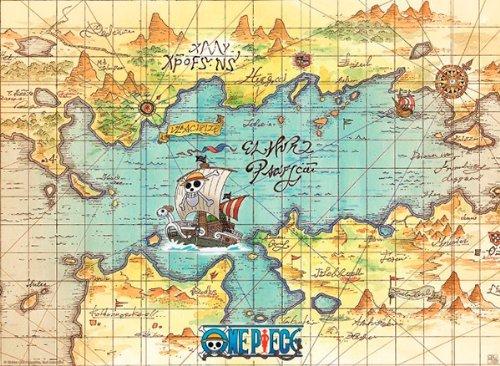 one piece karte One Piece Landkarte | Deutschland Karte