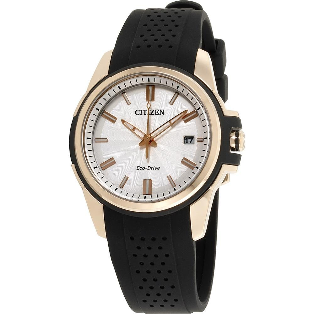 Citizen AR Eco-Drive Movement Silver Dial Ladies Watch FE6133-09A