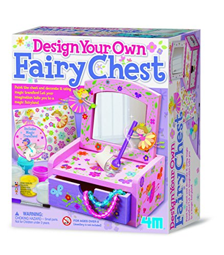 4M Paint Your Own Fairy Mirror Chest - Own Fairy Mirror