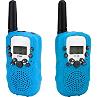 2pcs Walkie Talkies for Kids Boys Girls, Long Range ham Radio for Kids Outdoor Toys for 3-12 Year Old Boys Handheld Two-Way Radio Girls Gift
