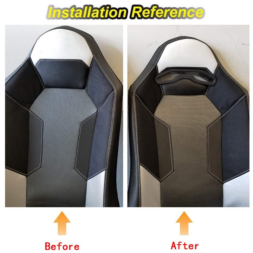WeiSen 4 Pack UTV Harness Pass Through Seat Bezel Insert Fit Polaris RZR XP 1000 900 S//XC General