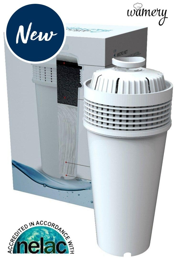 Water Bacteria Filter. Fits Wamery's Filtration kit. Cartridges to reduce bacteria & microorganisms. Clear water from kitchen faucets & natural sources. Filters suitable for kids