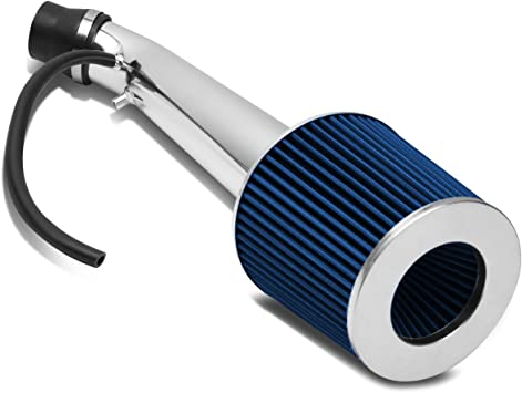 "3/""PIPING SHORT RAM AIR INTAKE KIT W//BLUE CONE FILTER FOR 94-01 ACURA INTEGRA GSR"