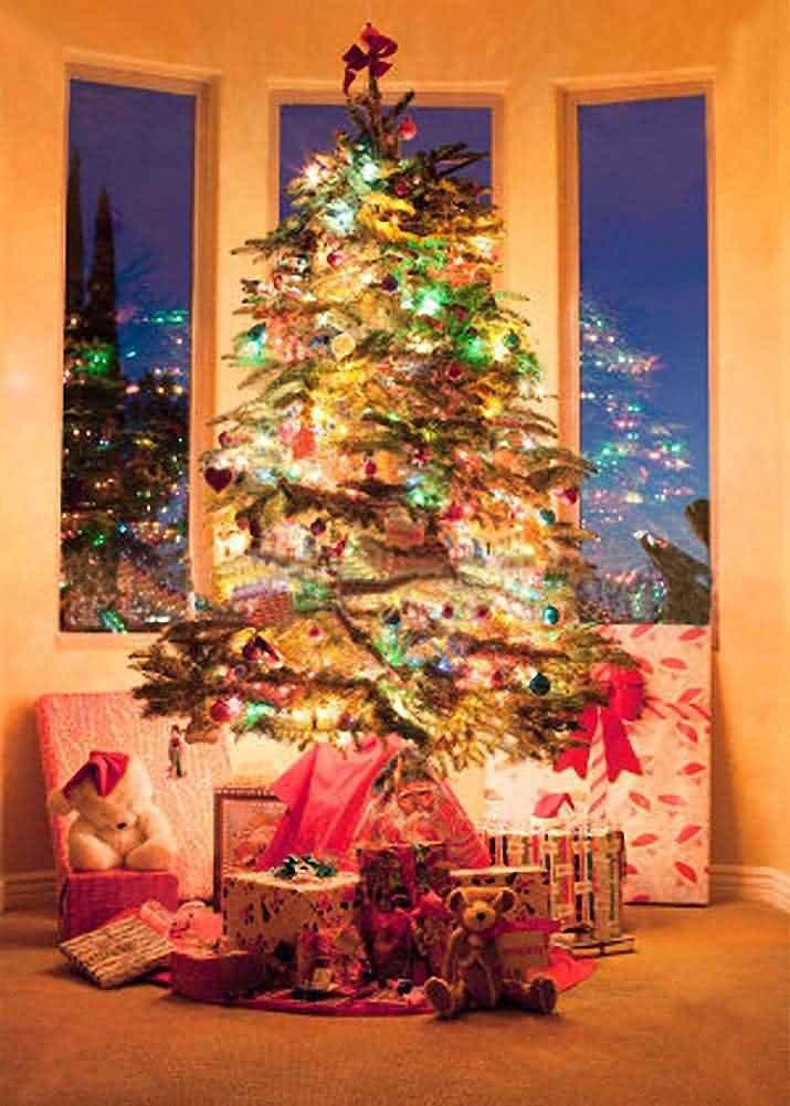 GladsBuy クリスマス プレゼント 1.5m X 2m デジタル印刷背景 撮影事務室用背景 クリスマスのテーマ 結婚式用背景 Cosplay用背景 YHA-125   B016BX2O0S