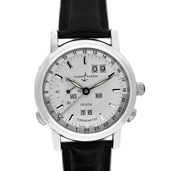 Ulysse Nardin GMT calendario perpetuo automatic-self-wind Mens Reloj 329 - 80 (Certificado) de segunda mano: Ulysse Nardin: Amazon.es: Relojes