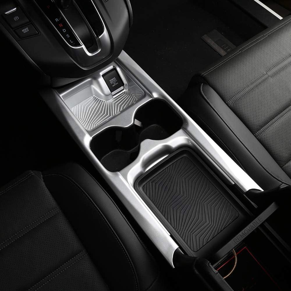Gnnlor Zentralsteuer Cupholder Dekorrahmen Dekorabdeckung Innenraum f/ür Honda CRV CR V 2017 2019