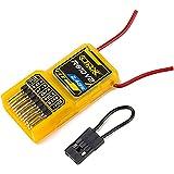Orange 6 Kanal Micro Nano Empfänger Rx R610V2 DSM2 kompatibel 6CH 2.4GHz Receiver mit CPPM Spektrum / JR von Modellbau Eibl