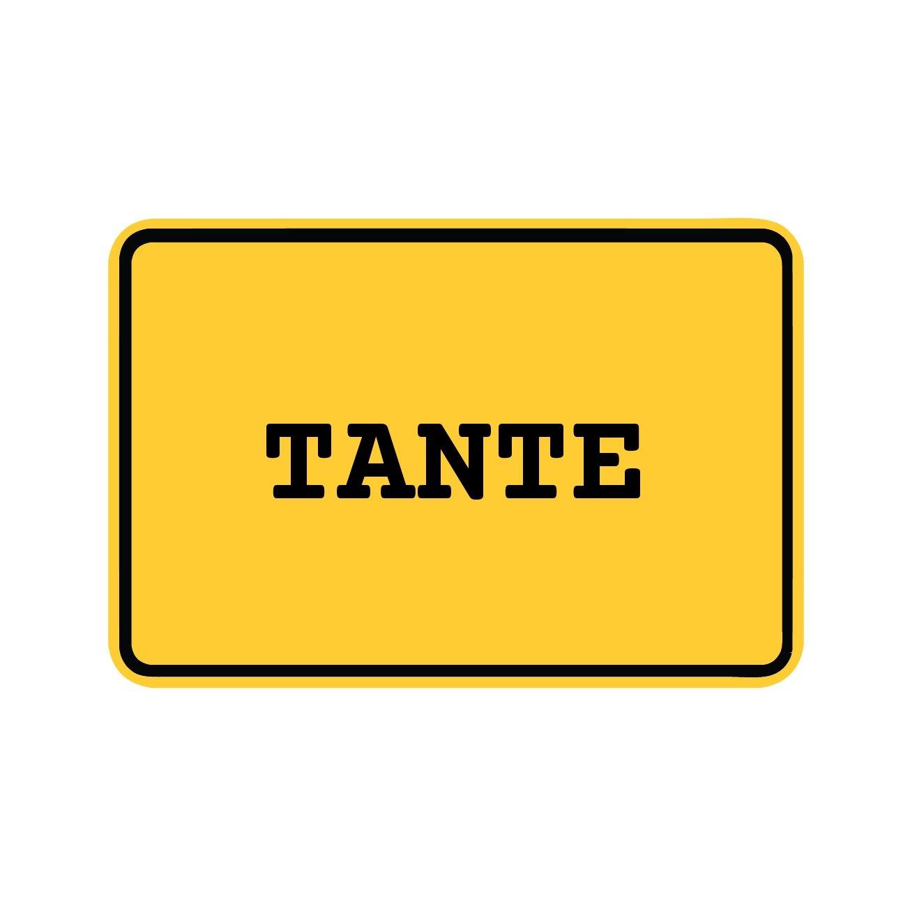 Design Kleeblatt Farbe Tante JOllify Aufkleber