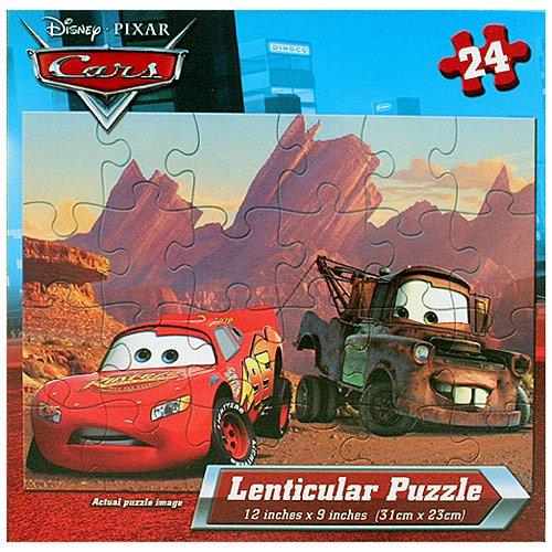 Disney Lenticular Lightning McQueen Mater
