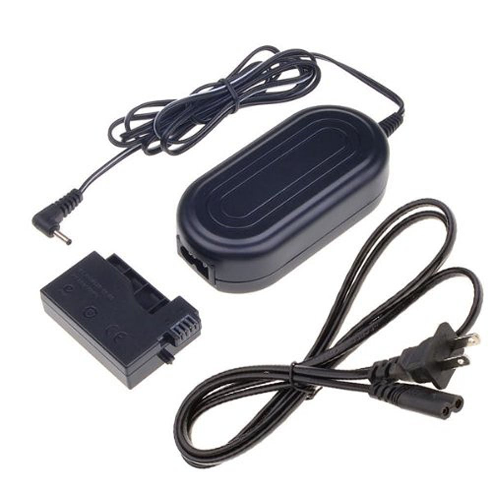 Canon Camera Charger Kit, Gonine ACK-E8 AC Power Adapter Plus DR-E8 DC Coupler (Canon LP-E8 Battery Replacement) for Canon EOS Rebel T5i T4i T3i T2i Kiss X6 Kiss X5 Kiss X4 700D 650D 600D 550D