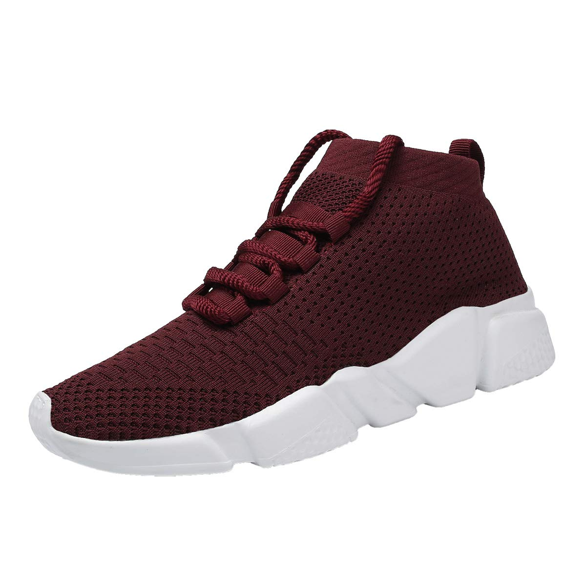 Kundork Womens Casual Athletic Sneakers Knit Running Shoes Tennis Shoe for Women Walking Baseball Jogging Training Gym Kundork801W