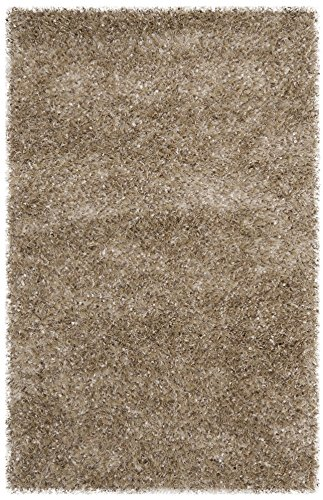 Safavieh Malibu Shag Collection MLS431N Handmade Natural Polyester Area Rug (2'6
