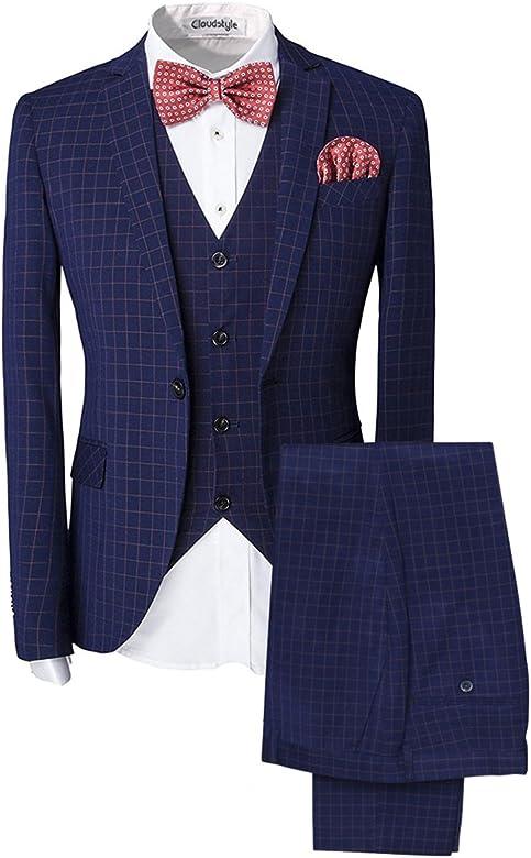 3 pezzo vestito di tweed 2018 Ultime Giacca Gilet Pantalone