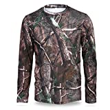 Sport Clothes,Asixx 3 Sizes Men Long Sleeve T-Shirt or Outdoor Quick Drying Clothes Great for A Variety of Outdoor Activities, Like Hunting, Adventure, Hiking