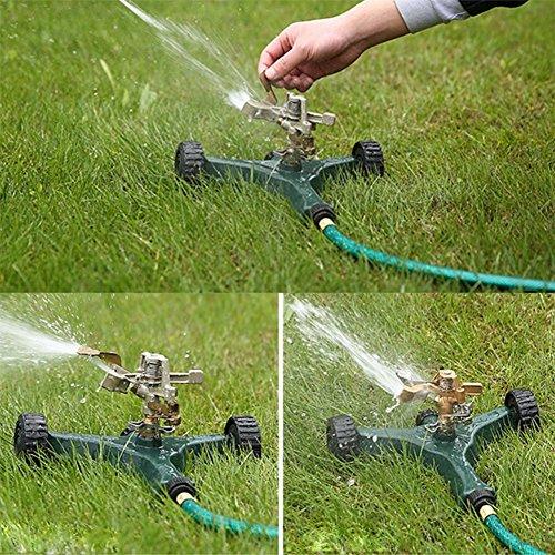 MLL Lawn Irrigation Equipment Sprayer 12M Long Range Watering Garden Lawn Yard Grass Irrigation Equipment,Green