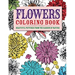 FLOWERS COLORING BOOK (Chartwell Coloring Books)
