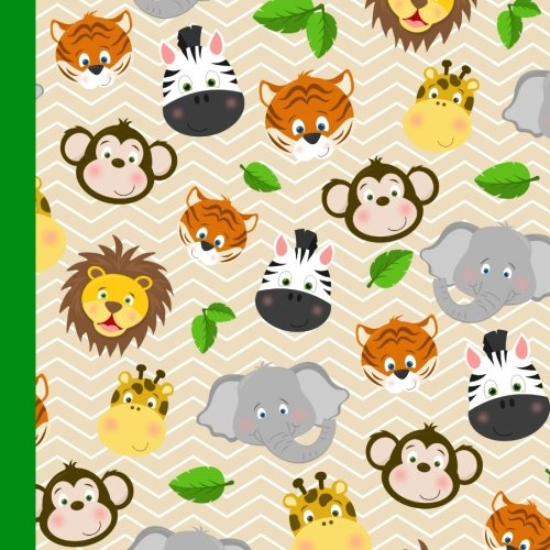 Kids Jungle Party Guest Book: Beautiful Kids Jungle Animals Party Guest Book For a Memory Keepsake to Treasure Forever (Jungle Party Supplies for Kids.Jungle Party Kids Invitations) (Volume 1) ()