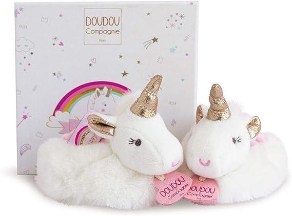 Doudou et Compagnie - Zapatillas de Unicornio (0 a 6 Meses): Amazon.es: Bebé