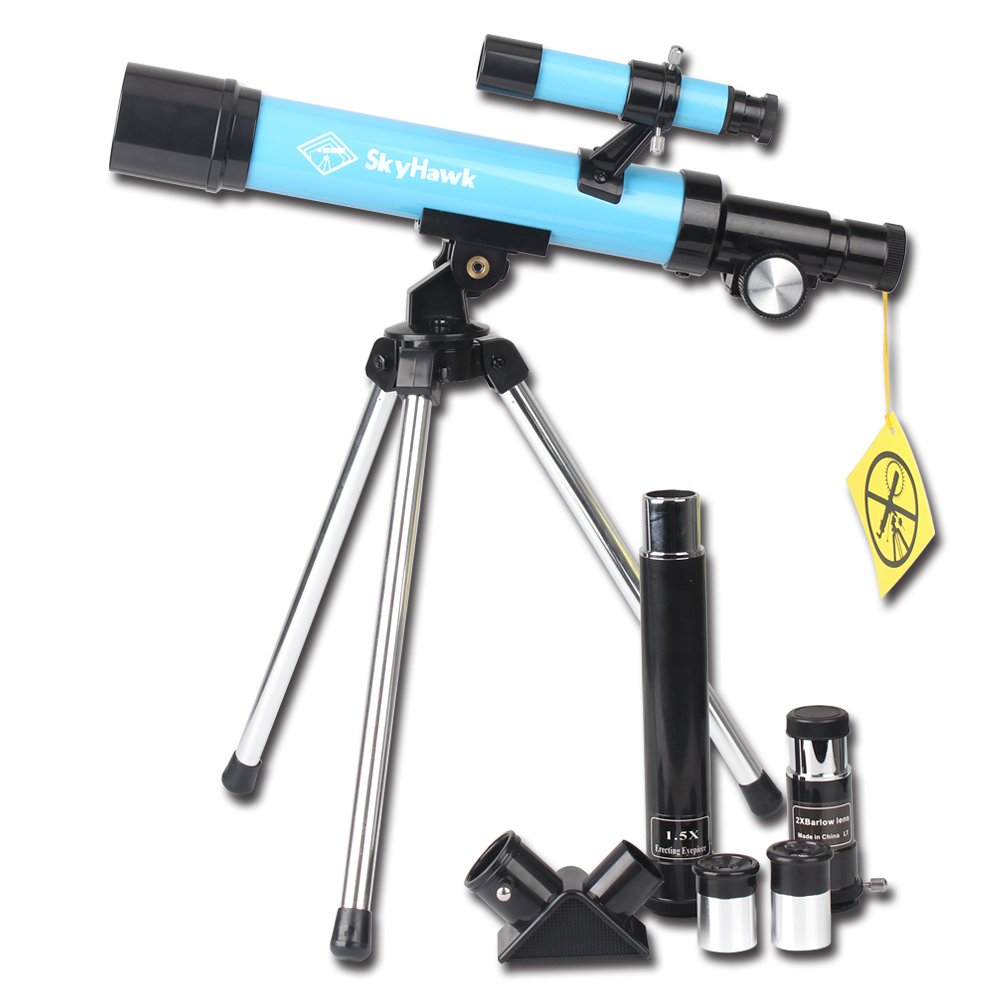 Telescope 400x40mm with Tripod & Finder Scope, Portable Telescope for Kids & Beginners, Travel Scope