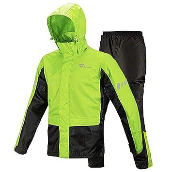 Amazon.com: Dewor Rainwear Raincoat - Chaqueta impermeable ...