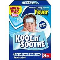 Kool 'N' Soothe Cooling Strip Sachets Kids Multipack 8