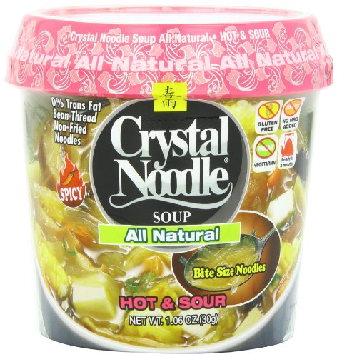 Crystal Noodle All Natural Soup, Hot & Sour, 1.9 Ounce (Pack of (Hot And Sour Soup Recipe)