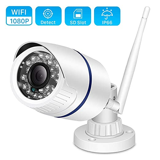 HD 1080p Cámara IP Al Aire Libre WiFi Cámara De Seguridad ...