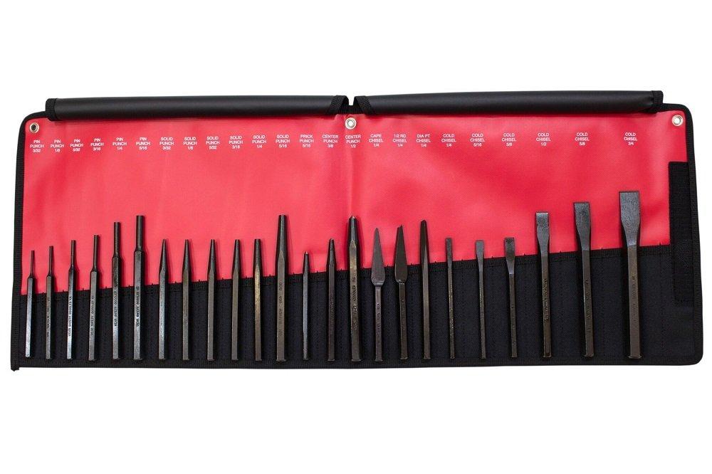 Mayhew Pro 61050 Punch and Chisel Kit, 24-Piece by Mayhew