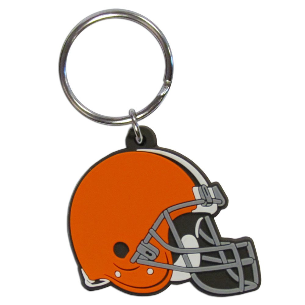 NFL Cleveland Browns Carved Metal Key Chain