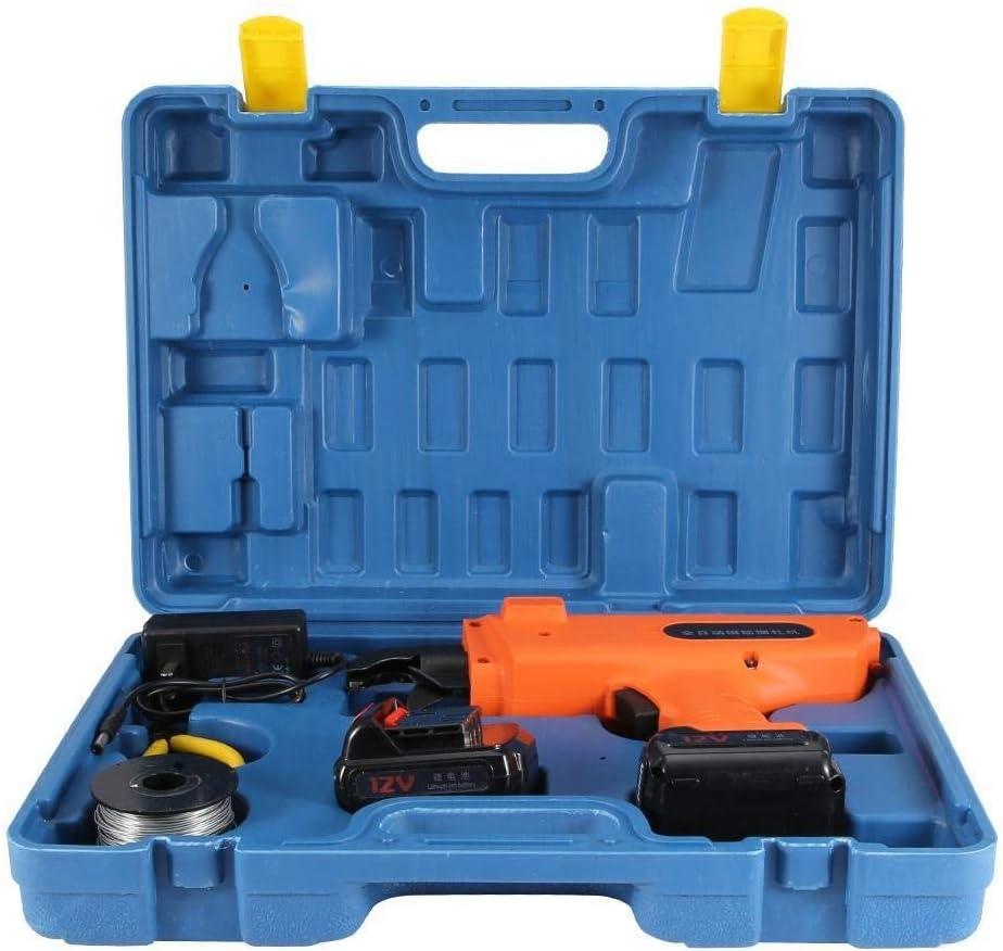 Rockyin 6-25mm automático portátil Rebar que ata la máquina de varillas de hierro Flejadora 100-240V CN