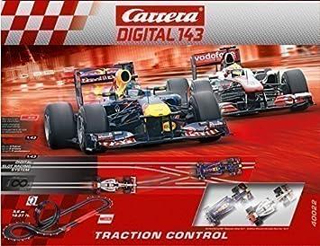 Carrera Digital 143 Traction Control 40022 Digital Racing System Track Formula 1 Racing Car Racing Looping Lane Change Spielzeug