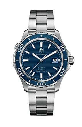 084db1b68427 Image Unavailable. Image not available for. Color  Tag Heuer Aquaracer  Men s Watch ...