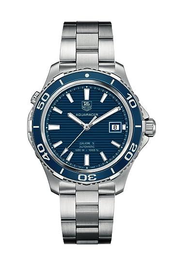 TAG Heuer – Reloj de pulsera analógico automático para hombre acero inoxidable WAK2111.BA0830