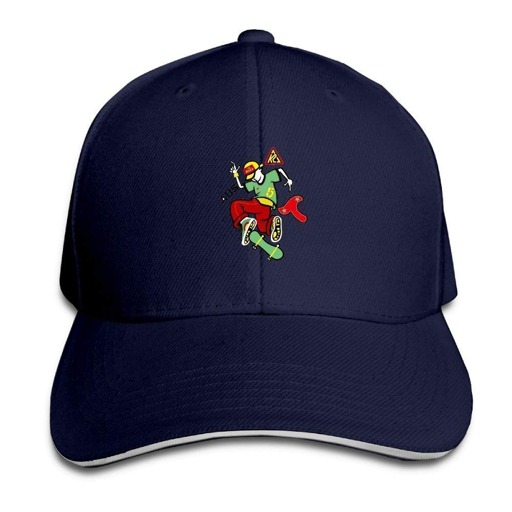 Wrpios Skateboard Boy Cap Unisex Low Profile Baseball Hat 01573